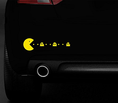 adesivo-per-auto-4x4-computer-portatile-motivo-pac-man