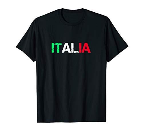 Italien Farben Tshirt Italy Italia Fahne Flagge T-Shirt