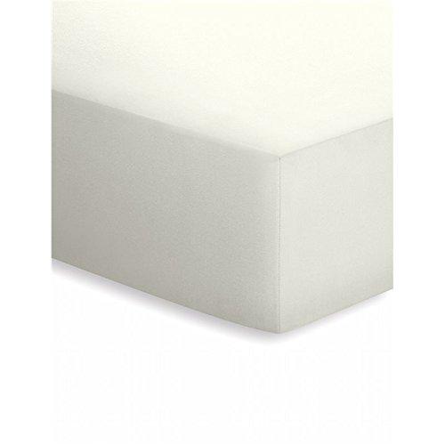 Schlafgut Mako-Jersey Basic Spannbetttuch, Baumwolle, Taupe, 200 x 150 cm