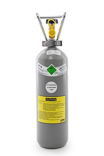 Preisvergleich Produktbild 2 kg Kohlensäure Flasche für Aquarium /2 kg CO2 Flasche/Gasflasche gefüllt mit Kohlensäure(CO2) / Lebensmittelqualität nach E290 /NEUE Eigentumsflasche/ 10 Jahre TÜV ab Herstelldatum/Globalimport