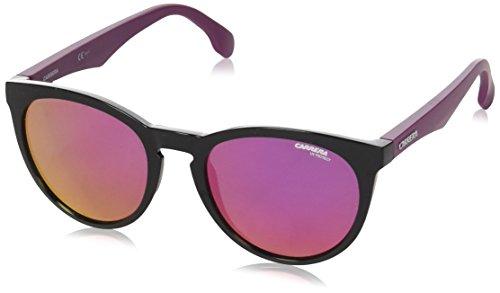Carrera Unisex-Erwachsene 5040/S Vq Sonnenbrille, Schwarz (Mtauber Mtbk/Pink Multilayer), 53