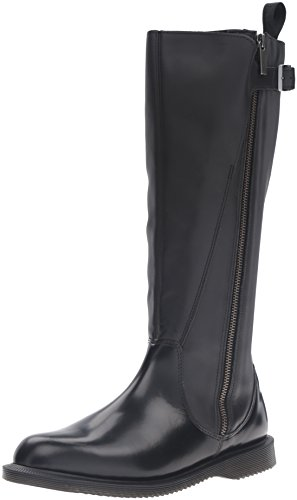 Dr.Martens Womens Chianna Polished Smooth Leather Boots *
