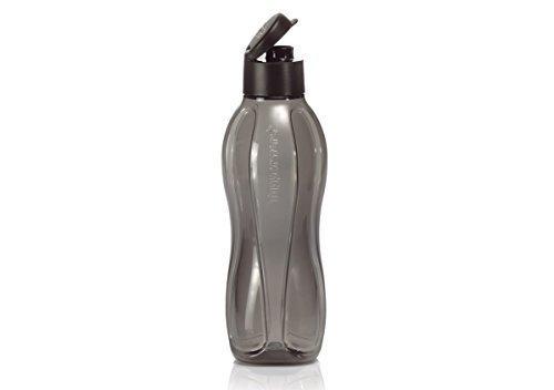 Tupperware Large Eco Water Bottle/jet Black 36-oz./1 L Capacity by Tupperware (Tupperware Safe)