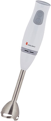 Amazon Brand - Solimo 200-Watt 2-Speed Hand Blender (Steel)