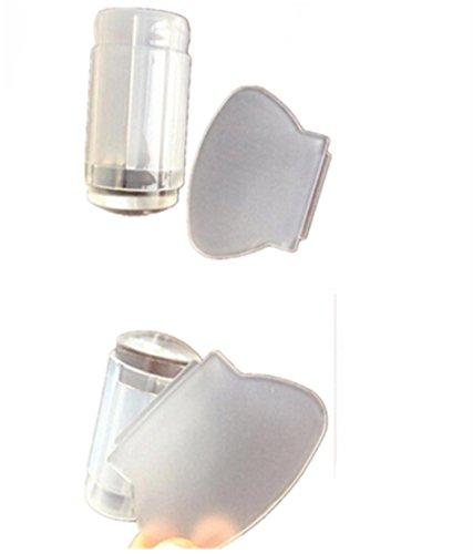 Susenstone 2,8 cm DIY Nail Art Stempeln Stamper Scraper Image Plate Transfer Maniküre-Tool