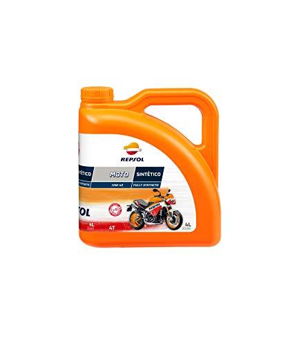 REPSOL - 9990510531/162 : Olio moto sintetico 4T 10W40 4L 4 Litros