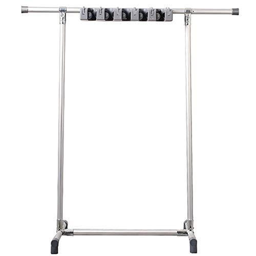 Mop Rahmen, Beweglich Montage Von Aluminiumlegierungen Metall Mopp Lagerregal, Multifunktionale Schwerlast Haushaltsbesen Hakenklammer Mop Heads 60