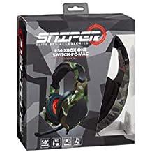 Indeca - Auricular Multiplataforma Sniper (PS4)