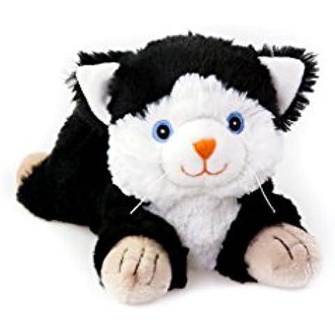 Habibi Plush gato Cojín de calor para microondas