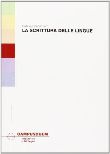 La scrittura delle lingue