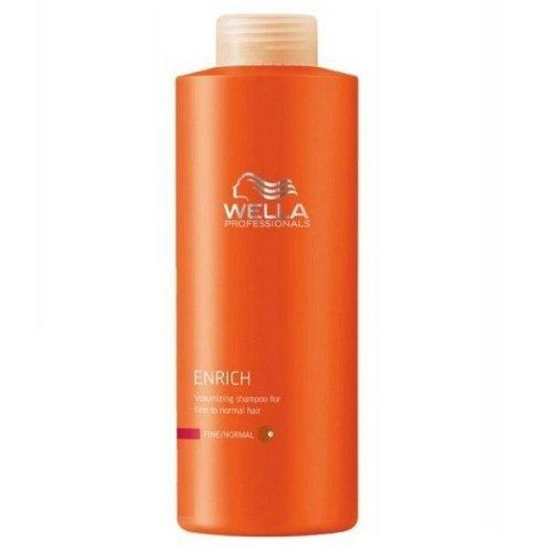 Wella Professionals Care Enrich Volumen-Shampoo für feines bis normales Haar 1.000ml