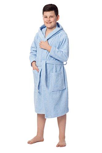 ZOLLNER Albornoz niños 8 a 11 años algodón