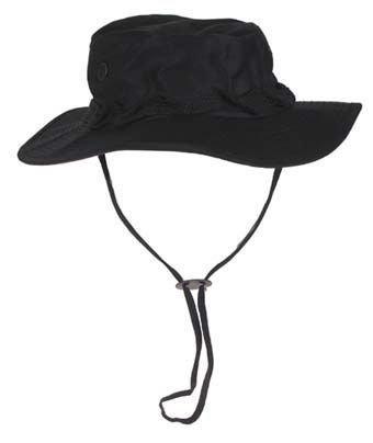 GI Boonie Hat, US Buschhut schwarz S - XL
