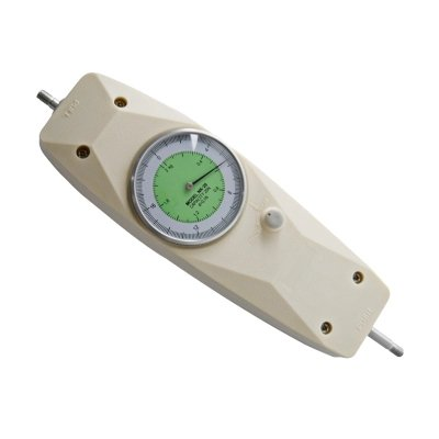 500N/0.5N Pointer Pull Force Gauge Zugkraft Gauge Push Pull Force Gauge-Dynamometer Tester Meter mit integriertem Sensor, NLB-500 Newton and British Pound, 1 (Force-meter)