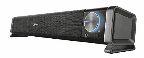 Trust Asto Kabellose Soundbar Lautsprecher (für PC und TV-Gerät, mit Bluetooth-Technologie)