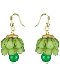Waama Jewels Gold Plated Dangle & Drop Earrings Jewellery Gift For Her, Girl, Women, Mother, Sister, Girlfriend...