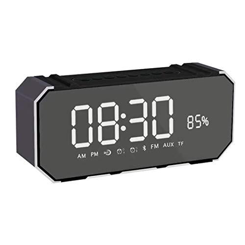 GLJJQMY Wecker Bluetooth Audio Aluminium Wireless Audio Subwoofer Computer Audio, 190 × 53 × 82MM 190 Ipod