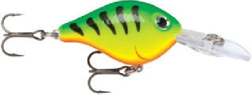 Rapala - Ultra Light Crank - Leurre de pêche - Multicolore (Fire Tiger) - Taille: 3 cm