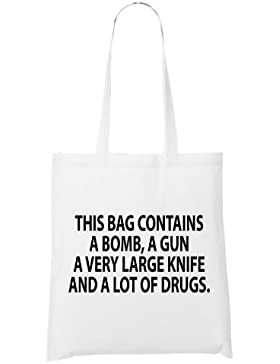 This Bag Contains Bag White