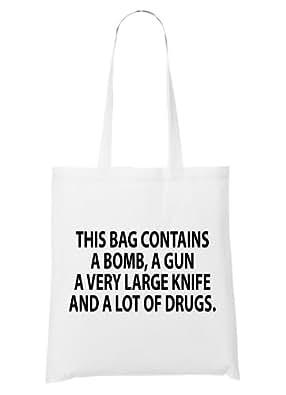 This Bag Contains Sac Blanc