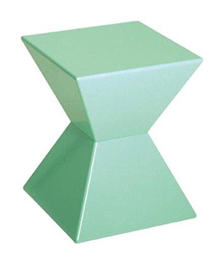 Haku–Mesa auxiliar Kunstst offguß, lacado brillante, color verde menta,...
