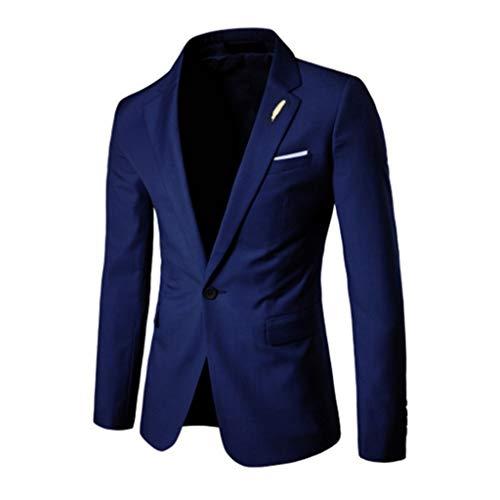 JiaMeng Abito da Uomo Insieme Sottile del Vestito della Festa Nuziale di Affari Abito Slim Blazer Business Giacca Pantaloni Gilet Abiti da Sposo