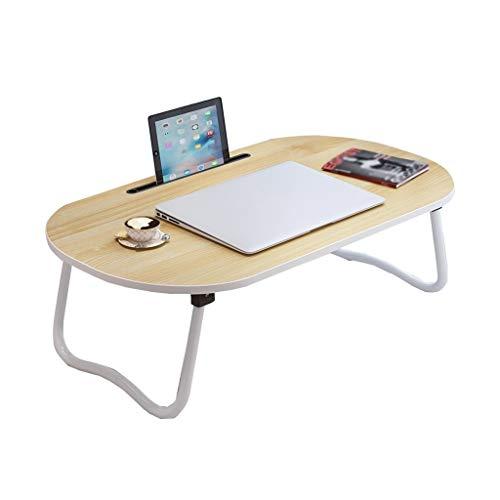 XuZg-Small table Student Schreibtisch, Schlafzimmer Balkon Boden Couchtisch Bett Esstisch Laptop Tisch Mehrere Farben (Color : Wood, Size : 70 * 40 * 28CM) -