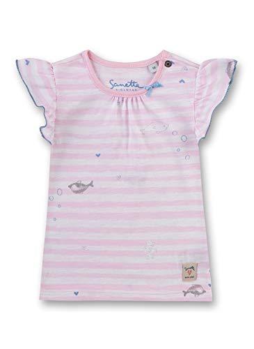 Sanetta Baby-Mädchen T-Shirt, Rot (Bubblegum 3288), 80 (Herstellergröße: 080)