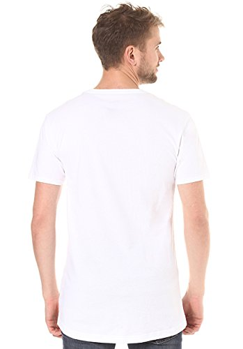 Cleptomanicx Herren T-Shirt White