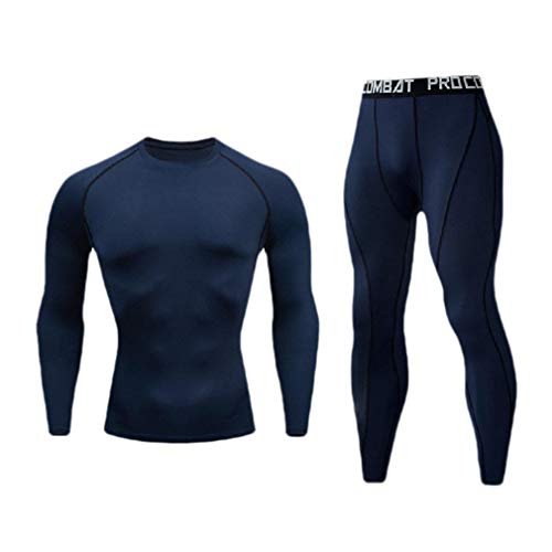 CuteRose Men's Trousers Sports Quick Dry Regular Fit Compression Activewear Dark Blue XS Juicy Couture Velour Set