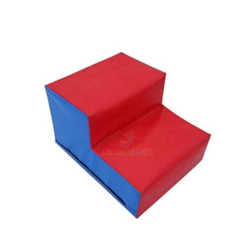 RMJAI Weichschaum-Kleinkind-Treppe und Ramp Climber Gym Toy - ideal zum Klettern, Rutschen, Krabbeln und körperlicher Aktivität für Kinder und Kinder Tritthocker (größe : 50cmx40cmx30cm)