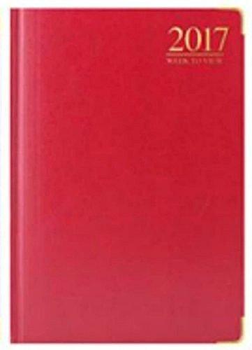 tallon-2017-gepolsterte-a5-wochenansicht-gold-metall-ecken-3983-rot-burgund