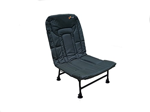 Cyprinus Extra Super Lightweight Extra Large Wide Reclining Carp fishing Chair Test
