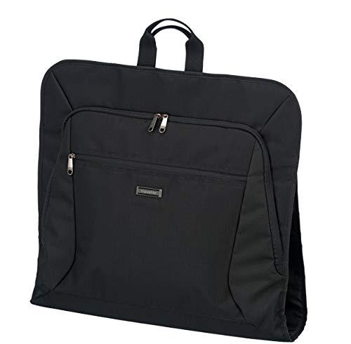Travelite Knitterfrei reisen: Klassische Gepäck-Serie Mobile macht Sie auf Geschäftsreise mobil mit Stil Kleidertasche, 107 cm, 15 Liter, schwarz