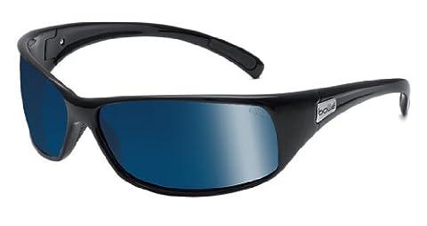 Bollé Recoil Lunettes de soleil Polar Off Shore Blue oleo AR Noir Brillant Taille M/L