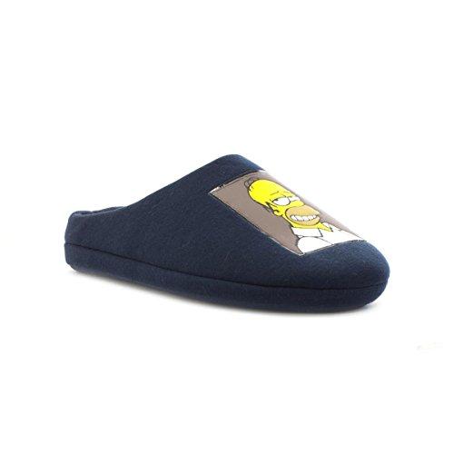 the-simpsons-pantofole-uomo-blu-blu-425