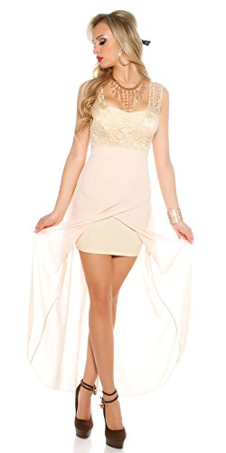 In-Stylefashion - Robe - Femme beige beige L Beige