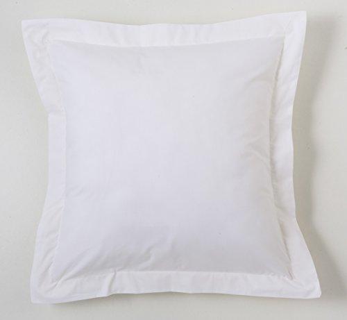 ESTELA   Funda cojín Combi Lisos Color Blanco   Medidas