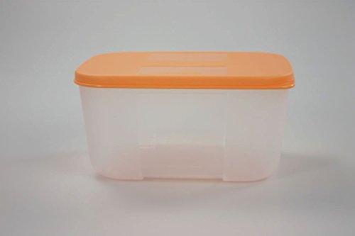 TUPPERWARE Kühlschrank System 700 ml pastellorange Frische-System Dose Behälter - Tupperware Kühlschrank Frisch