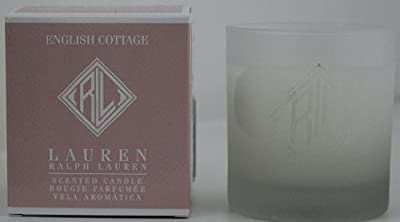 Brand New In Box Ralph Lauren English Cottage Scented Candle- Rose, Lychee & Pink Grapefruit