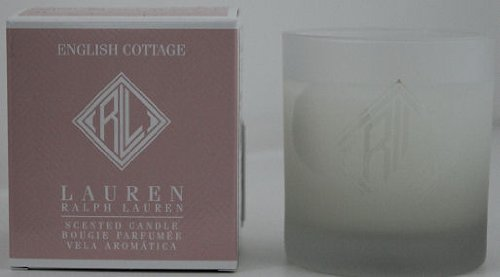 Nuovo in scatola Ralph Lauren English Cottage Scented candle- rose, Lychee & pompelmo rosa