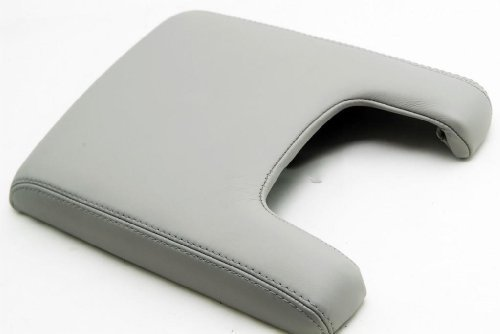 acura-tl-center-console-lid-armrest-cover-real-leather-gray-leather-part-only-by-aaaupholster