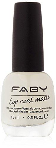 Faby Nagellack Top Coat Matte, 15 ml
