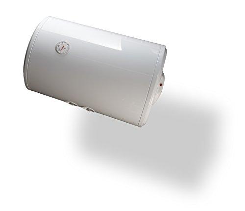 Bandini Braün Boiler Elektro Zylindrische Horizontal mit Anode von Magnesium und Sicherheitsventil, 1500W, 230V, weiß, weiß, SO-80 1500 wattsW, 230 voltsV -