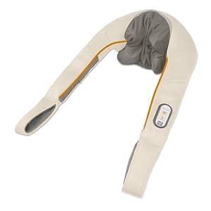 Medisana NM 860 Shiatsu Nackenmassagegerät mit Wärmefunktion, Schultermassagegerät mit 4 Massageköpfen, waschbar mit 2 Rotationsstufen, Entspannung für Nacken und Schulter