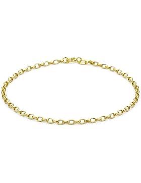 Carissima Gold Bohnenkette Armband 9k (375) Gelbgold 19cm