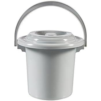 Curver Seau de toilette Gris 5 L