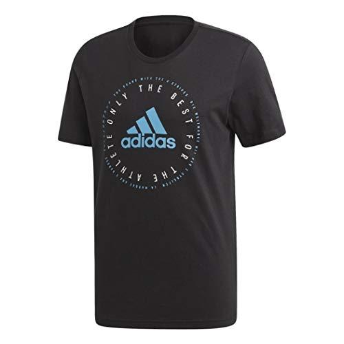 adidas Herren MH Emblem T-Shirt Black XL