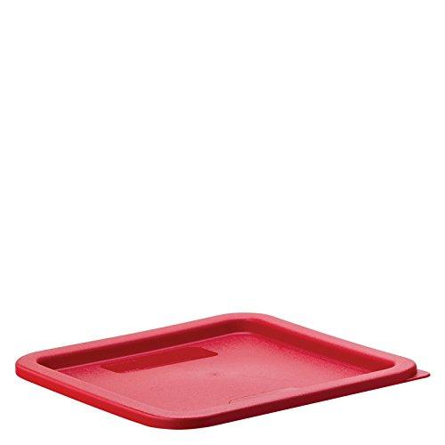 UTOPIA storplus, ca10741050, storplus quadratisch Deckel für 5.77.6l Container rot (6er Box) Storplus Food Storage Box