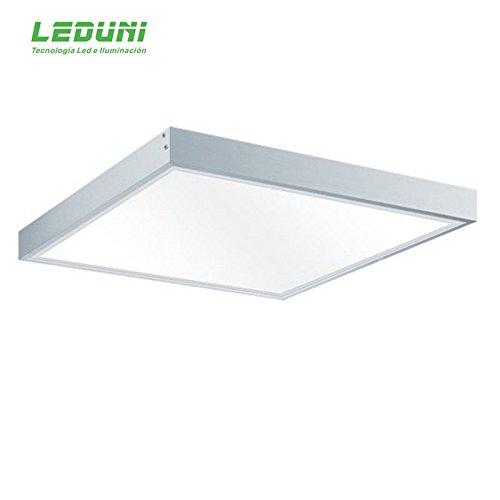 LEDUNI Kit Marco superficie Panel 60×60 Blanco Marco